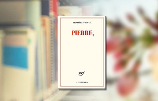 """Visuel du livre """"Pierre,"""" de Christian-Bobin"""